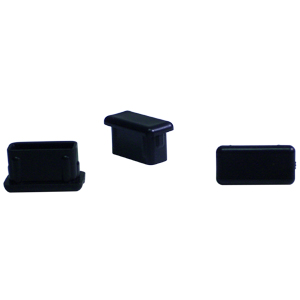 INS REC 1/2 x 1 (16-18) BLACK  - Miscellaneous Tube - INSERTS