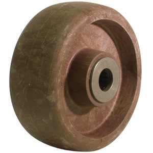 WHL 5x2 HT GL/NY BRN 3/4 RB  - 5 in.              ( 127 mm ) - WHEELS