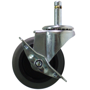 PIV 3x1 CAOUGR TIGE BGE 7/16x1-3/8 SFRN  - 100 - 199 lb.            ( 45 - 90 kg ) - ROULETTES