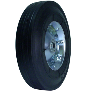 WHL SEMI-PNEU 10x2.5 OFF 5/8 BB MHUB  - 500 - 599 Lbs            ( 227 - 272 kg ) - WHEELS