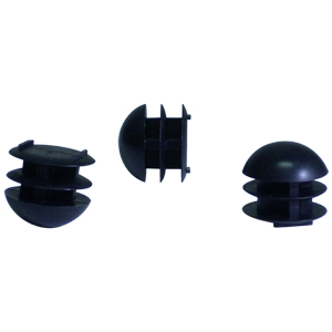 INS RND 7/8 (14-23) BLACK DOMED  - Black - INSERTS