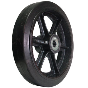 WHL 12x2.5 RUB/CAST 1 RB  HUB 2 3/4  - 12 in.            ( 305 mm ) - WHEELS