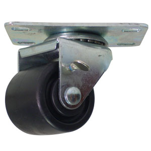 SWL 2x1 13/16 POLYO PLT PB BRK  - Swivel Plate / Brake ( Top Lock ) - CASTERS