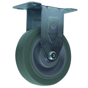 RIG 4x1-1/4 CAOUT GR EL PLQ BB  - 200 - 299 lb.            ( 91 - 136 kg ) - ROULETTES