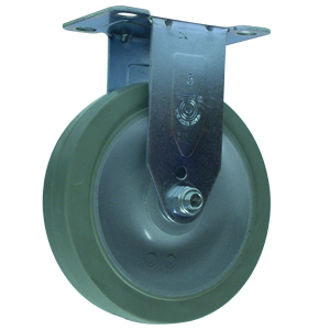 RIG 5x1-1/4 GR RUBB EL PLT BB  - 5 in.              ( 127 mm ) - CASTERS