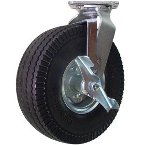 SWL 10 FLATFREE PLT PBB BRAKE  - Swivel Plate / Brake ( Top Lock ) - CASTERS