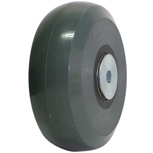 WHL 6x2 SOL URE/GLNY GR/BLK 1/2 PBB  - 6 in.             ( 152 mm ) - WHEELS