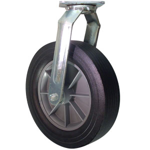 SWL 12x3 SEMI-PNEU BB 3/4  - 12 in.            ( 305 mm ) - CASTERS