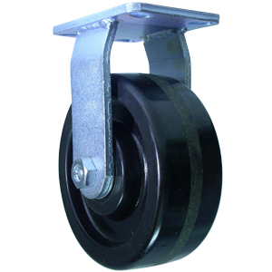 RGD 8x3 PHEN PLT HD RB  - 8 in.             ( 203 mm ) - CASTERS