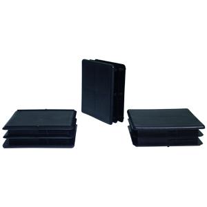 INS 2-1/2 SQR (14-23) BLACK  - Square 2 1/2 O.D. - INSERTS