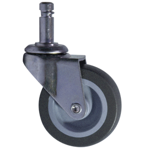 SWL 2-1/2x13/16 URE/POLYO STEM CC 7/16x1-3/16  - 2 1/2 in.         ( 64 mm ) - CASTERS