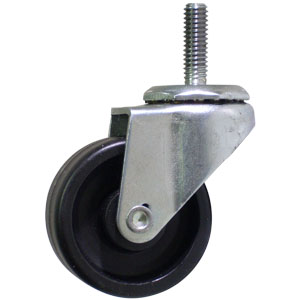 SWL 2x13/16 POLYO STEM THRD 5/16 x 1  - Threaded Stem 5/16 (18) - ( TC ) - CASTERS