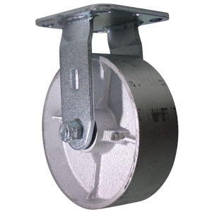 RGD 6x2 CAST PLQ RB  - 6 in.             ( 152 mm ) - CASTERS