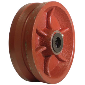 WHL 6x2 V-GRV DUCT 3/4 RB  - 6 in.             ( 152 mm ) - WHEELS