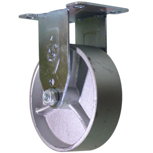 RGD 4x1-1/4 STEEL PLT PB  - 4 in.              ( 102 mm ) - CASTERS