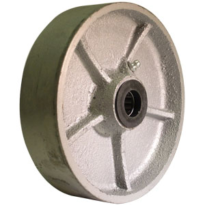 WHEEL 6'' x 1-1/2'' SEMI STEEL RB 3/4''  - 6 in.             ( 152 mm ) - WHEELS