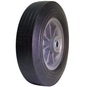 WHL SEMI-PNEU 10x2.75 SYM 3/4 BB PHUB  - 3/4 in. Ball Bearing - WHEELS