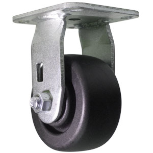 RGD 4x2 POLYO PLT DEL  - 4 in.              ( 102 mm ) - CASTERS