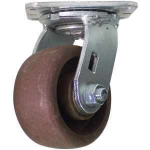 SWL 4x2 (HT) GL/NYLON PLT RB  - High Temperature (HT) Casters - CASTERS
