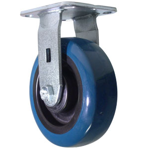 RGD 6x2 URE/POLYO BLUE/BLK PLT RB  - 700 - 799 Lbs            ( 318 - 362 kg ) - CASTERS