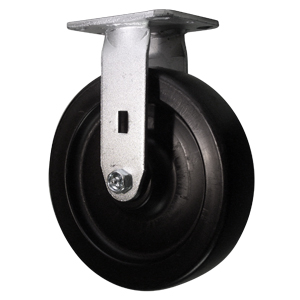 RGD 8x2 POLYO PLT DEL  - 8 in.             ( 203 mm ) - CASTERS