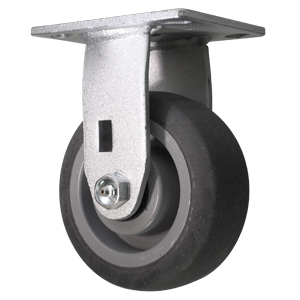 RGD 5x2 GR RUBB EL PLT RB  - 5 in.              ( 127 mm ) - CASTERS