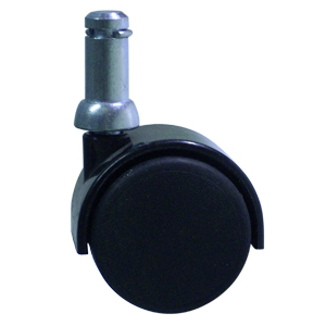 TWN 40mm NY CC 7/16x7/8 BLACK  - CASTERS