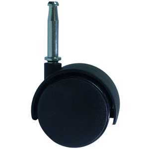 TWIN 50mm NY WS 5/16 BLACK  - CASTERS