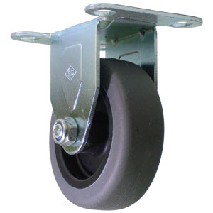 RGD 3x1 GRRUBB PLT  - 3 in.               ( 76 mm ) - CASTERS