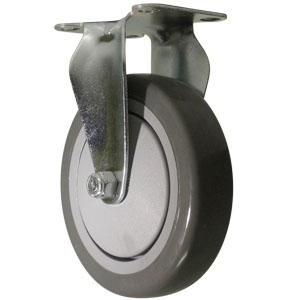 RGD 5x1.25 GR URE/POLYO BB PLT  - 5 in.              ( 127 mm ) - CASTERS