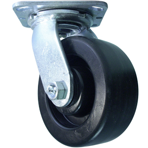 SWL 5x2 POLYO PLT DEL  - 600 - 699 Lbs            ( 273 - 317 kg ) - CASTERS