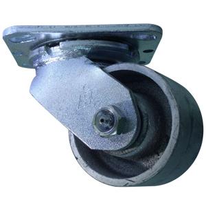 SWL 3-1/4x2 SEMI STEEL PT RB  - CASTERS