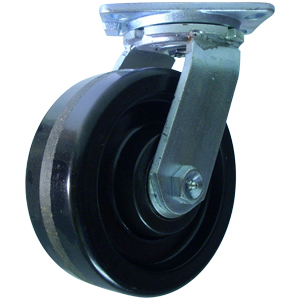 SWL 8x3 PHEN PLT HD RB  - Industrial Casters (HD 2000+ lbs) - CASTERS