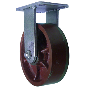 RIG 8x2-1/2 DUCT FLAT PLT TB  - 8 in.             ( 203 mm ) - CASTERS