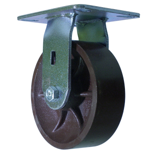 RIG 6x2 FLAT DUCT PLATE RB  - 6 in.             ( 152 mm ) - CASTERS