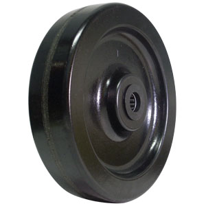 WHEEL 8x2 PHENOLIC 3/4 RB  - 8 in.             ( 203 mm ) - WHEELS