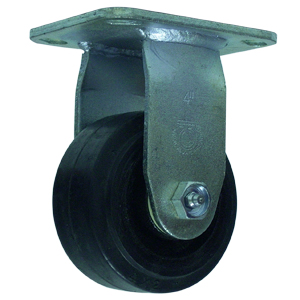 RGD 4x2 RUBB/CAST PLT RB  - 4 in.              ( 102 mm ) - CASTERS