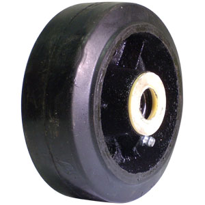 WHL 5x2 RUBB/CAST 3/4 RB  - 3/4 in. Roller Bearing - WHEELS