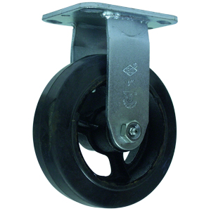 RGD 6x2 RUBB/CAST PLT RB  - 6 in.             ( 152 mm ) - CASTERS