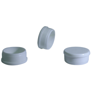 INS RND 1-1/4 (18) BLANC  - Rond 1 1/4   po  Dia. Ext.. - INSERTS