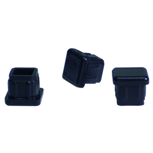 INS SQR 5/8 (16-18) BLACK  - Square Tube - INSERTS