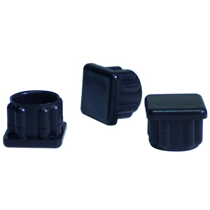 INS SQR 7/8 (16-18) BLACK  - Square Tube - INSERTS