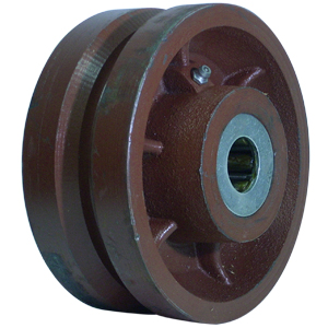 WHL 6x2.5 VG DUCT HUB 3-1/4 RB 1''  - 1 in. Roller Bearing - WHEELS