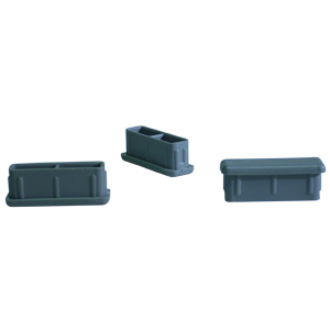INS REC 1/2x1 1/2(18)GRY C/O  - Miscellaneous Tube - INSERTS
