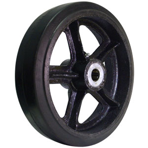WHL 12x3 RUBB/CAST 1  - 12 in.            ( 305 mm ) - WHEELS