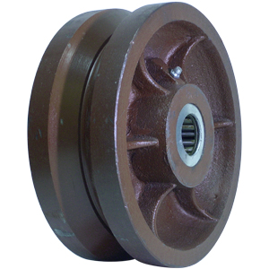 WHL 8x3 DUCT VGR 1 1/4 RB  - Ductile Steel - WHEELS