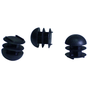 INS RND 3/4 (14-23) BLACK DOMED  - Black - INSERTS
