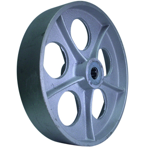 WHL 12x2.5 SEMI STEEL HUB 2 3/4  RB 1''  - WHEELS