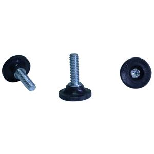 GTF 5/16(18) x 1 BASE 1-1/8 NOIRE  - Noir(e) - GLISSOIRES - NIVELEURS