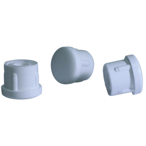 INS RND 1 (16-18) WHITE DOMED  - White - INSERTS